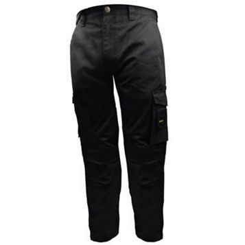 Stanley Phoenix Black Work Trousers (Waist)40