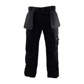 Stanley Colorado Black Work Trousers (Waist)34