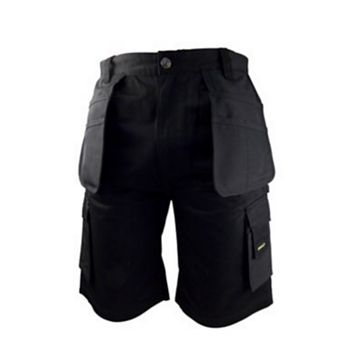 Stanley Warren Black Work Shorts W30