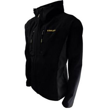 Stanley Austin Black Softshell Jacket XL