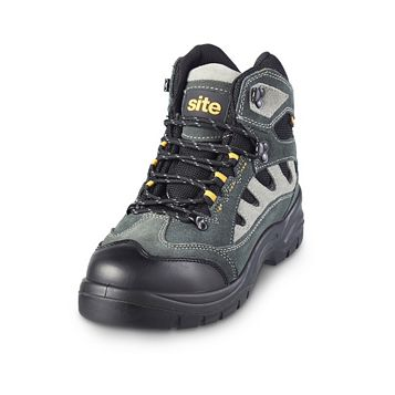 Site 200J Steel Toe Cap Safety Trainer Boots, Size 8