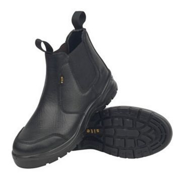 Site 200J Steel Toe Cap Safety Boots, Size 9