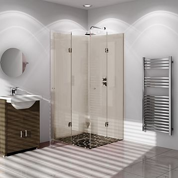 Vistelle Single Shower Panel, 2.44m x 1.22m x 4mm