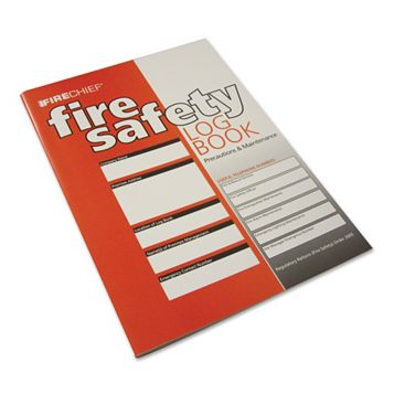 Firechief Covers Extinguishers, Fire Alarms, Emergency Lighting, Fire Officer Visits & Staff Training Fire Safety Logbook