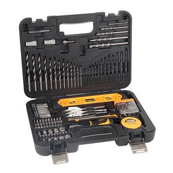 JCB Mixed Multi Purpose Drill Bit Set, 100 Pieces