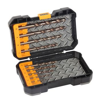 JCB Mixed Drill Bit Set, 10 Pieces