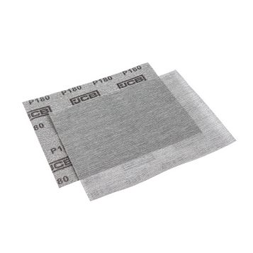 JCB 180 Grit Mesh Sanding Sheet Pack of 2