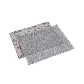 JCB 80 Grit Mesh Sanding Sheet, Pack of 2