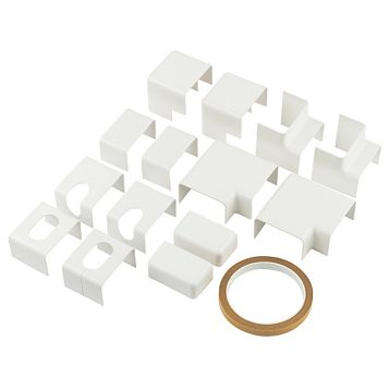 Talon Pipe Cover Accessories 22mm, Pack of 15