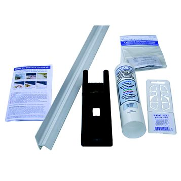 Splashwall White Shower Panelling Splash Seal Kit (L)1850mm
