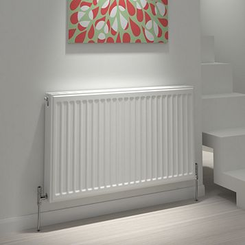 Kudox Type 21 Double Plus Panel Radiator, (H)600 (W)1400mm