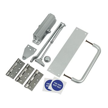 Push & Pull Fire Door Set