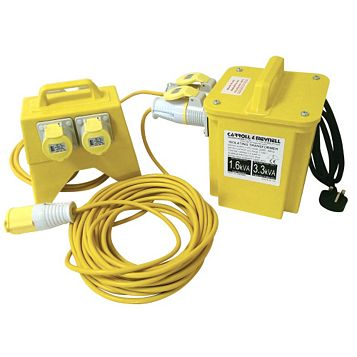 Carroll & Meynell Transformer Site Distribution Kit 240V 110V