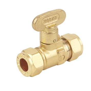 Brass Gas Isolating Valve