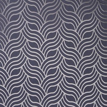 Precious Silks Geometric Metallic Wallpaper
