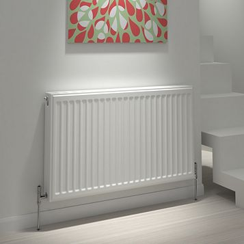 Kudox Type 21 Double Plus Panel Radiator, (H)400mm (W)1000mm