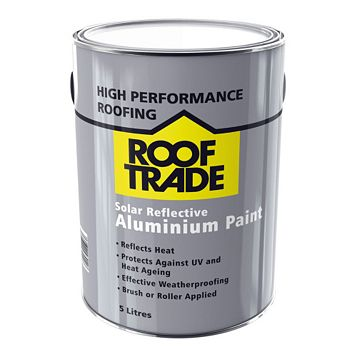 ROOFTRADE Solar Reflective Aluminium Paint, 5000ml