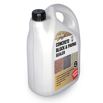 Clean Seal Concrete Block & Paving Sealer, 4L