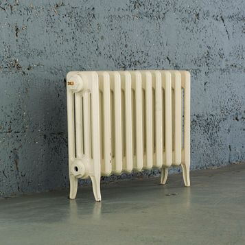 Arroll 4 Column Radiator, Cream (W)754 mm (H)460 mm