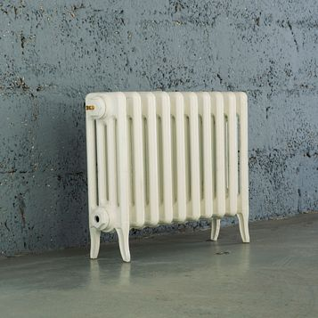 Arroll 4 Column Radiator, White (W)754 mm (H)460 mm