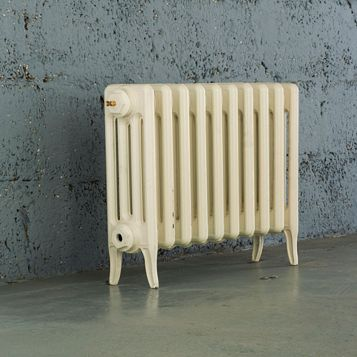 Arroll 4 Column Radiator, Cream (W)634 mm (H)460 mm