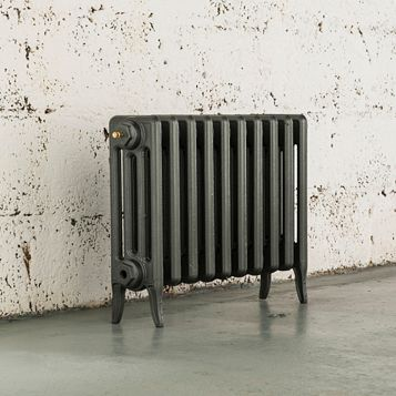 Arroll 4 Column Radiator, Cast Grey (W)634 mm (H)460 mm