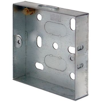 Lap 16mm Steel Knockout Box, Pack of 10