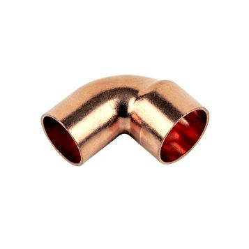 End Feed Street Elbows (Dia)15 mm, Pack of 2