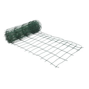 Blooma PVC Coated Steel Wire Fencing (L)10 M (W)650 mm