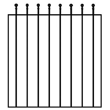 Blooma Steel Wide Gate (H)900mm (W)810mm