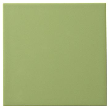Utopia Kiwi Ceramic Wall Tile, Pack of 44, (L)147mm (W)147mm