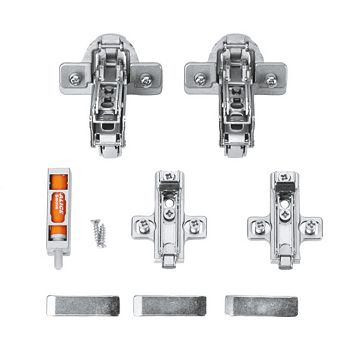 Cooke & Lewis Concealed 165° Non-Framed Door Hinge, Set of 2