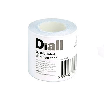 Diall Double Sided Vinyl Flooring Tape (L)5m (W)48mm