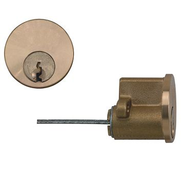 Diall Brass-Plated Rim Cylinder Lock