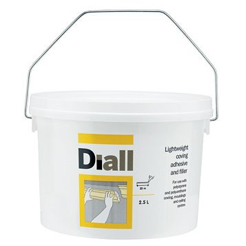 Diall Coving Adhesive & Filler, 2.5L