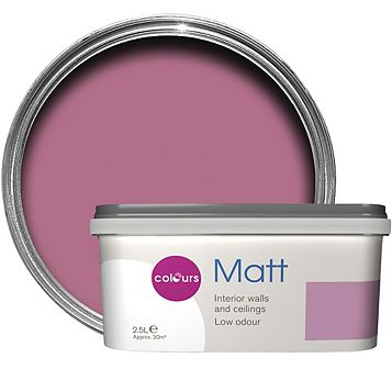 Colours Princess Matt Emulsion Paint 2.5L