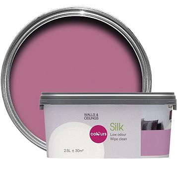 Colours Princess Silk Emulsion Paint 2.5L