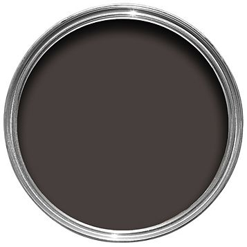 Colours Premium Any Room One Coat Dark Chocolate Silk Emulsion Paint 2.5L