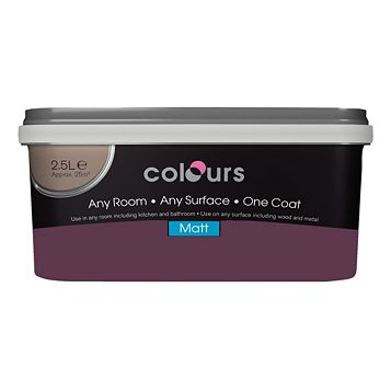 Colours Emulsion Paint Forest Fruits, 2.5L