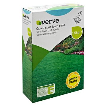 Verve Quick Start Lawn Seed 1.5kg
