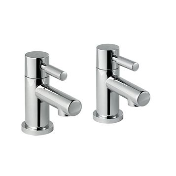 Cooke & Lewis Cirque Chrome Hot & Cold Bath Tap Of 2