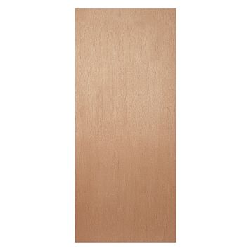 Flush Ply Veneer Internal Door, (H)1981mm (W)686mm