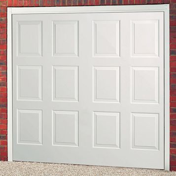 Dakota Framed Retractable Garage Door, (H)1981mm (W)2438mm
