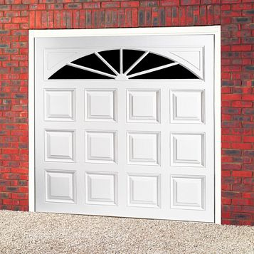 Washington Framed Retractable Garage Door, (H)2134mm (W)2134mm