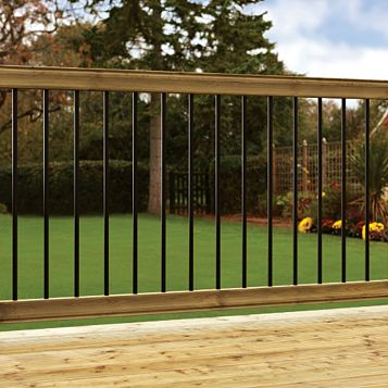 Deck Kits Softwood Balustrade Kit, (L)1820mm (W)175mm