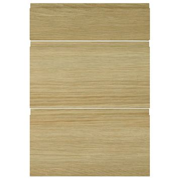 IT Kitchens Marletti Horizontal Oak Effect Drawer Front (W)500mm, Set of 3