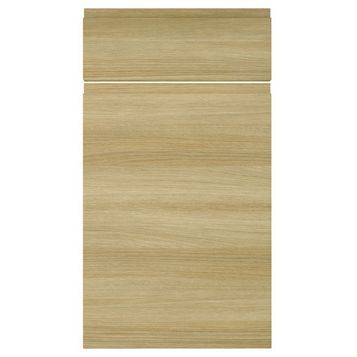 IT Kitchens Marletti Horizontal Oak Effect Drawerline Door & Drawer Front (W)400mm, Set of 1 Door & 1 Drawer Pack
