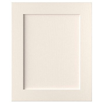 Cooke & Lewis Carisbrooke Ivory Integrated Appliance Door (W)600mm