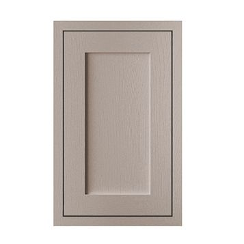Cooke & Lewis Carisbrooke Taupe Framed Tall Standard Door (W)450mm