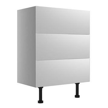 Cooke & Lewis Santini Gloss White Wide Base Cabinet